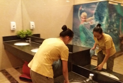 House cleaning service on Lunar New Year 2017